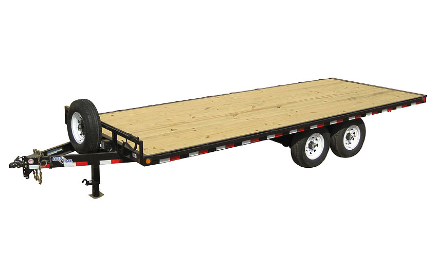 "2019 Load Trail 102"" X 22' Deck Over Pintle Hook Equipment Trailer"
