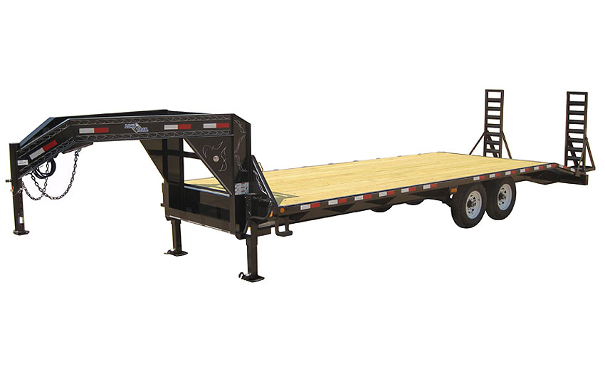"2018 Load Trail 102"" X 25' Tandem Standard Gooseneck Equipment Trailer"