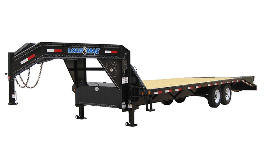 "2018 Load Trail 102"" X 30' Tandem Heavy Duty Gooseneck Equipment Trailer"