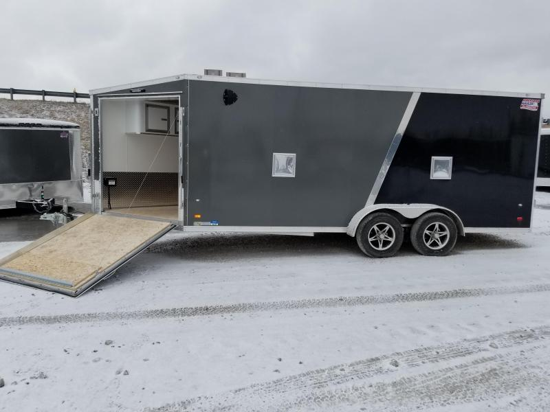 2018 American Hauler Industries 7 X 23Snowmobile Enclosed Cargo Trailer