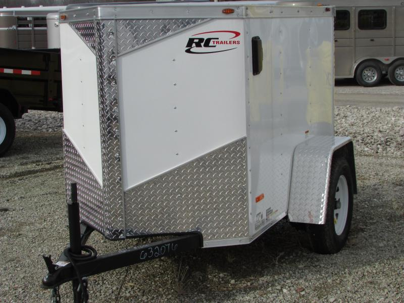 2017 RC Trailers 4 X 6 V NOSE Enclosed Cargo Trailer