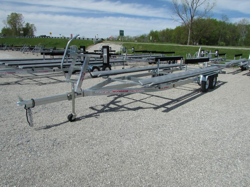 2018 Wolverine Trailers All Pro 24 Float On Pontoon Boat Trailer
