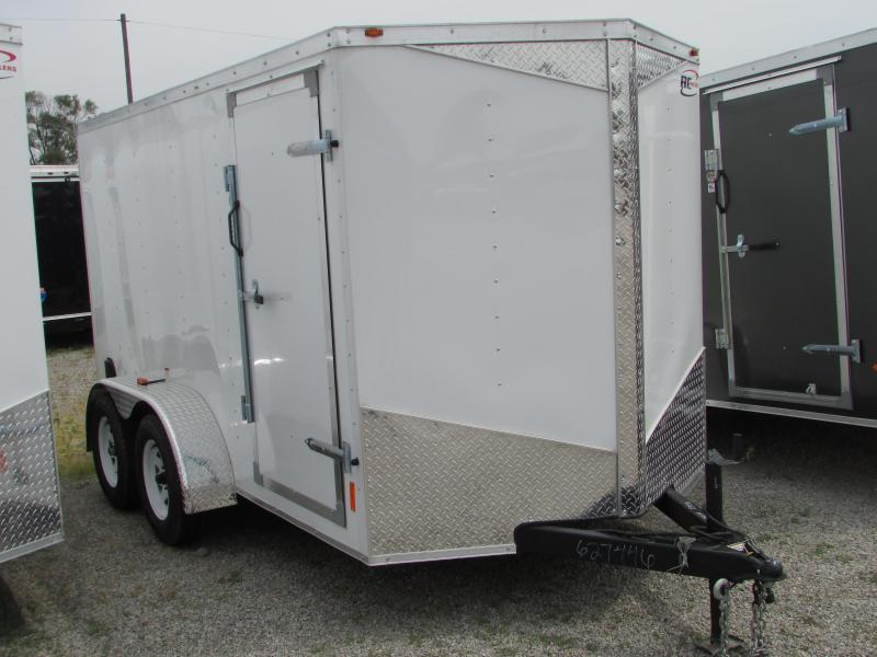 2018 RC Trailers RWT 6X12 TA2 Enclosed Cargo Trailer