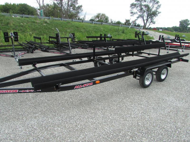 2018 Wolverine Trailers 24 All Star Float On Pontoon Boat Trailer
