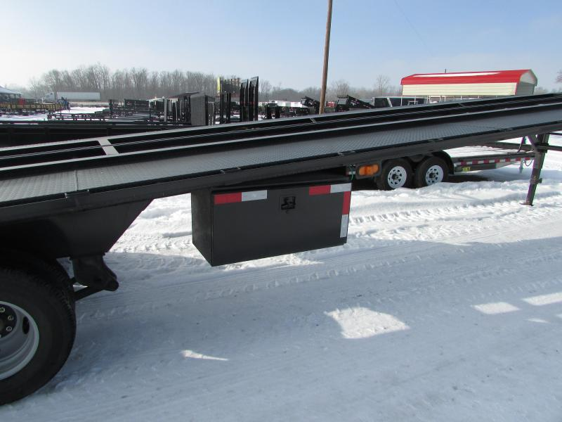 2017 Big Tex Trailers 51ft Auto Transport Flatbed Trailer