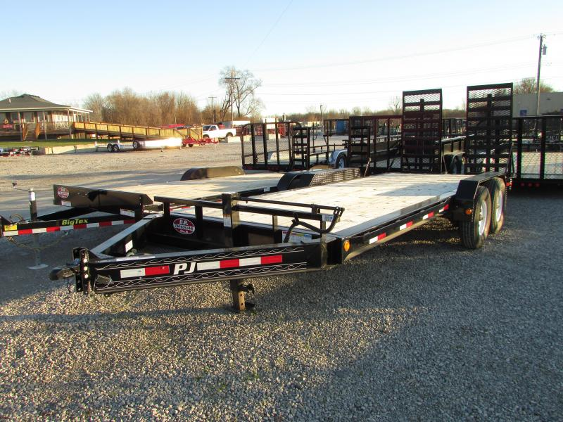 2018 PJ Trailers Heavy Duty 16k Equipment Trailer