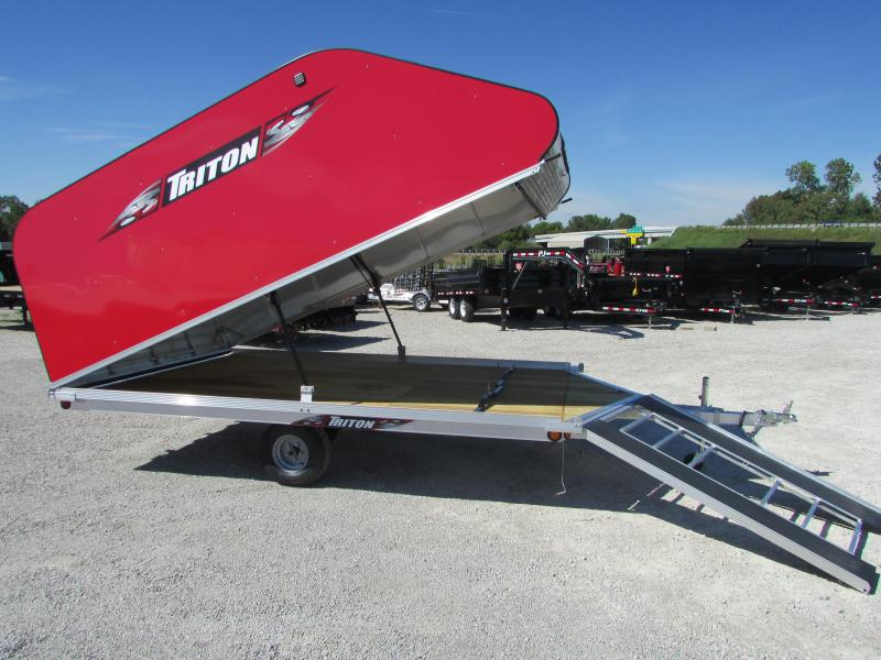 2018 Triton Trailers XT 12 ON/OFF Snowmobile Trailer