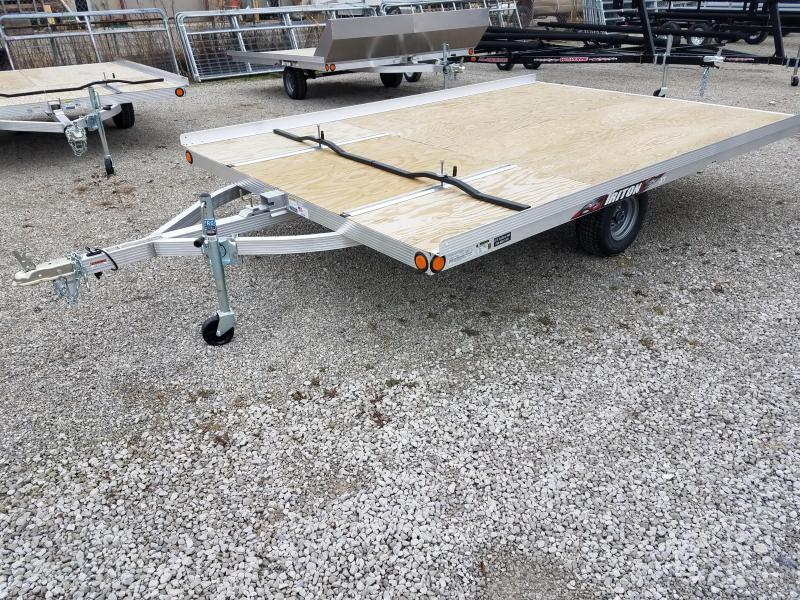2018 Triton Trailers XT 12 OPEN TILT STYLE Snowmobile Trailer