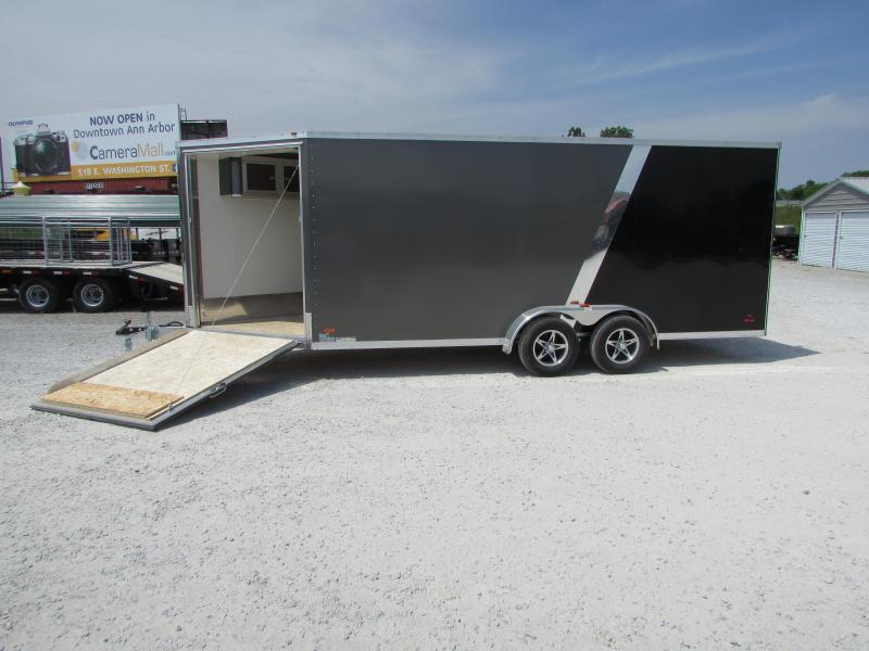 2017 RC Trailers 7 x 23 Snowmobile UTV Enclosed Cargo Trailer