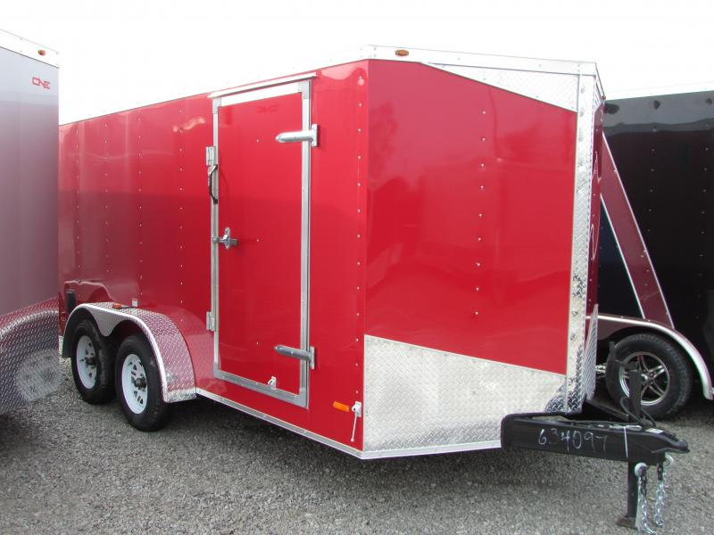 2017 RC Trailers 7 X 14 Ramp Enclosed Cargo Trailer