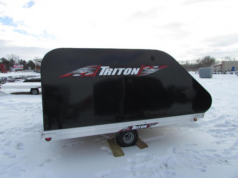 2018 Triton Trailers XT 11 TILT STYLE Snowmobile Trailer