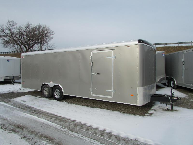 AMERICAN HAULER 24' ENCLOSED CARHAULER TRAILER