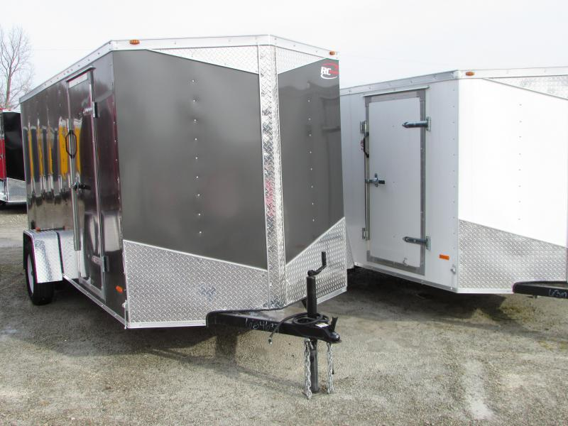 2017 RC Trailers 6 x 14 Ramp Enclosed Cargo Trailer