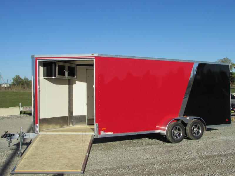 2018 RC Trailers 7 X 23 Snowmobile UTV Enclosed Cargo Trailer