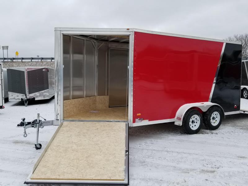 2018 RC Trailers 7 X 19 Snowmobile Enclosed Cargo Trailer