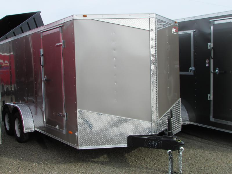 2017 RC Trailers 7 X 16 Ramp Enclosed Cargo Trailer