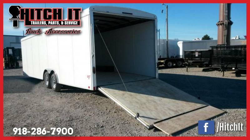 ONLY United Dealer in OK! 2017 United Trailers 8.5 X 28 Enclosed Cargo Trailer