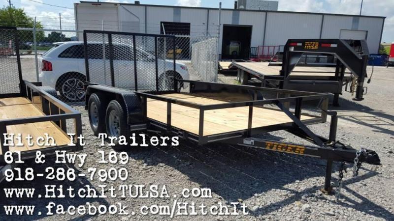 New 2017 Tiger Cargo & Utility trailer in Tulsa, OK - TrailersMarket.com