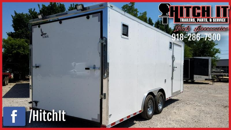 2018 Lark 8.5 X 20 ENCLOSED RACE TRAILER