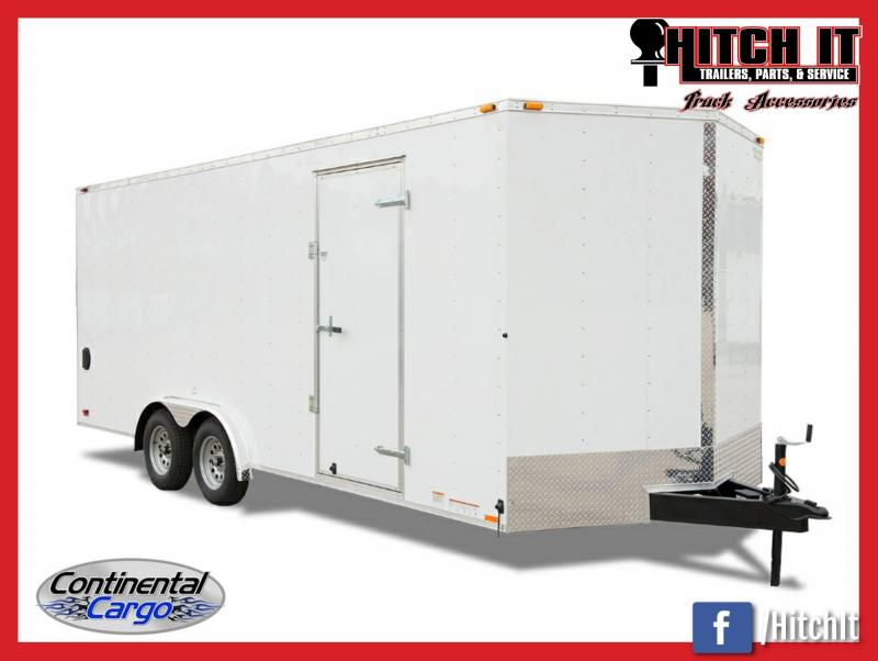 2018 Continental Cargo 8.5 x 20 Car / Racing Trailer