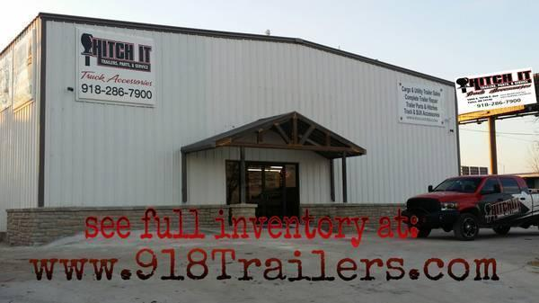Charcoal 77x16 Pipetop Utility Trailer w/ Slide in Ramps