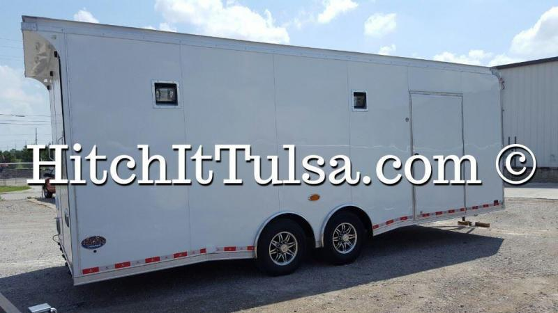 We are the ONLY United Dealer in OKlahoma!! 2017 United Trailers 8.5 x 24 Super Hauler Car / Racing Trailer