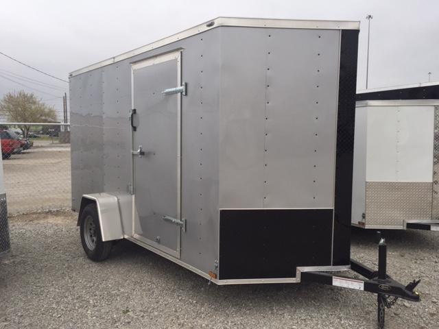 Lark 6x12 Enclosed Cargo Trailer V-nose