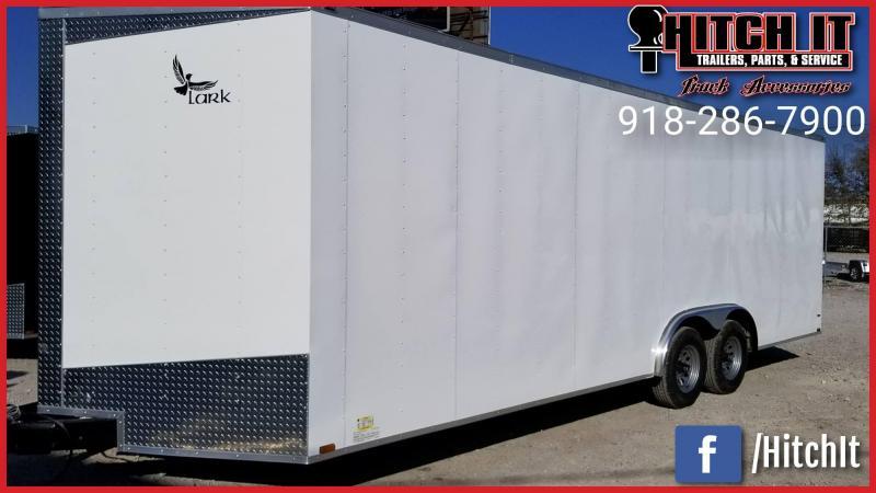 8.5 x 24 Enclosed Cargo Car Hauler Trailer w/ 5200# Axles 7' Tall