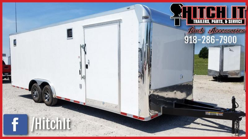 Lark 8.5 X 24 ENCLOSED RACE TRAILER