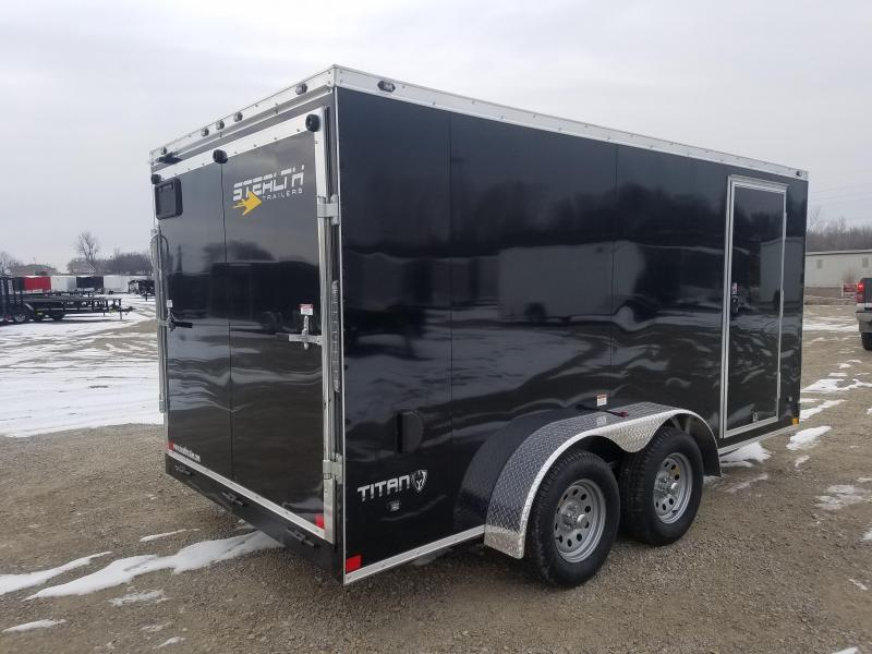 2018 Stealth Titan 7x14 Enclosed Cargo Trailer