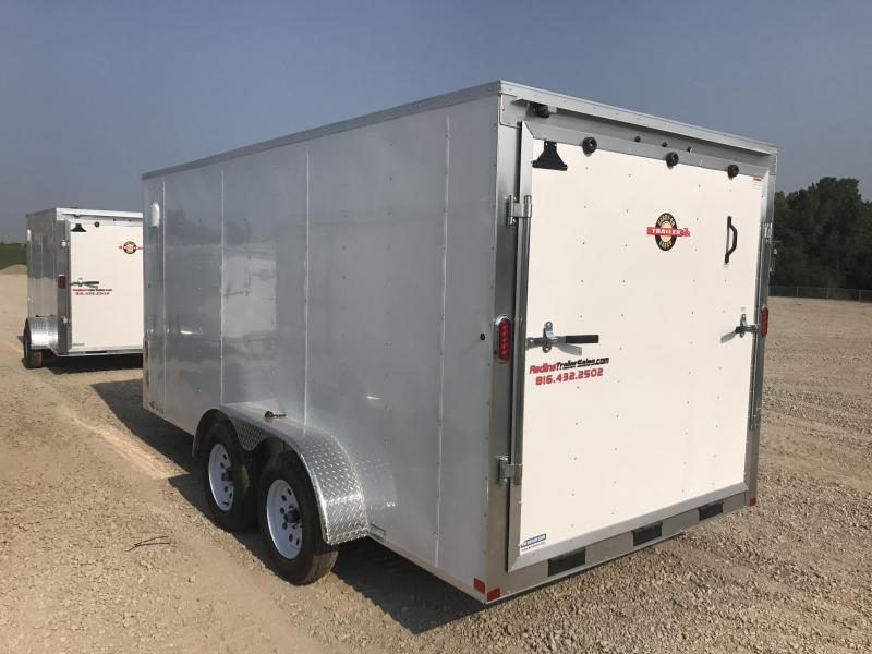 2018 Carry-On 7X16 Enclosed Cargo Trailer