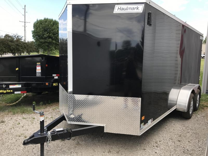 2017 Haulmark 7 X 16 Enclosed Cargo Trailer