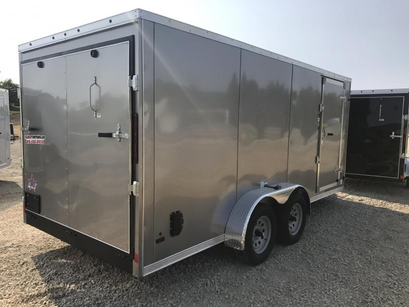 2018 US Cargo 7X16 Enclosed Cargo Trailer