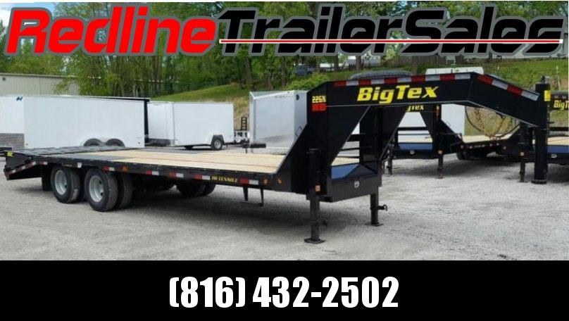 2017 Big Tex Trailer 20+5 Gooseneck Equipment Trailer 23900 GVWR
