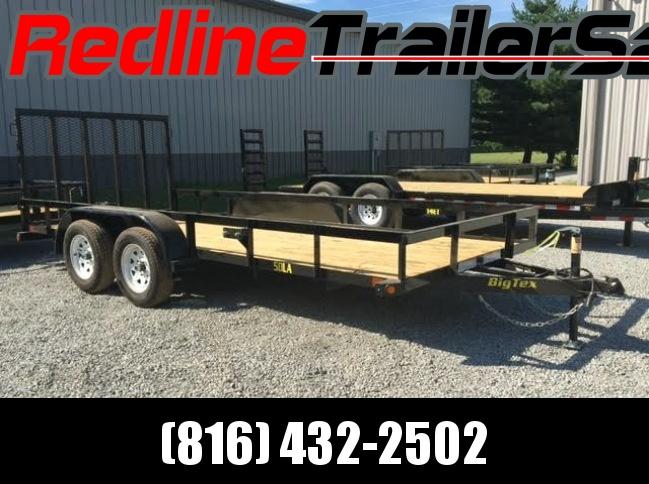 2018 Big Tex 6.5 X 16 Tandem Axle Utility Trailer