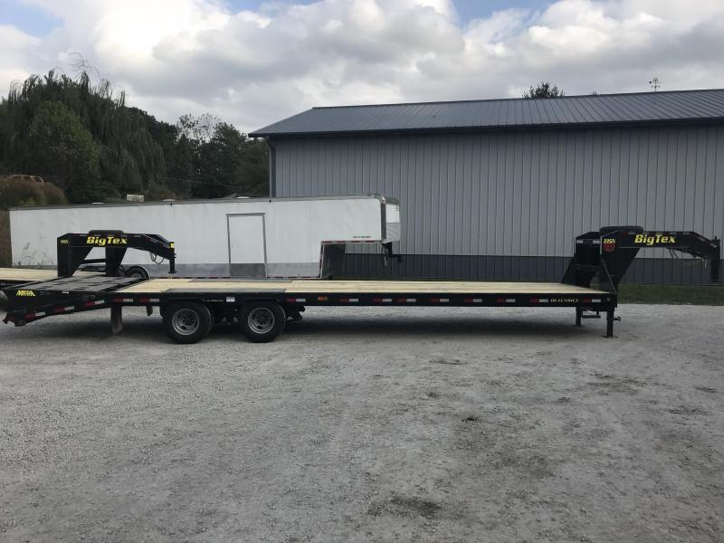 2018 Big Tex Trailer 28+5 Gooseneck Equipment Trailer 23900 GVWR- YEAR END SALE