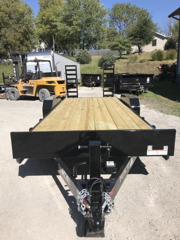 2018 Rice 18+2 Equipment Trailer * 14000 GVWR *