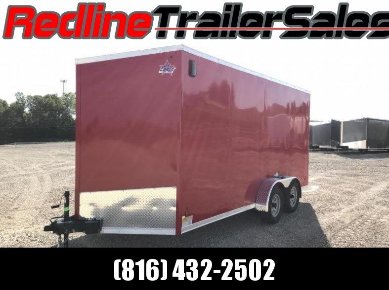 2018 US Cargo 7X16 Enclosed Cargo Trailer * 7' Interior Height *