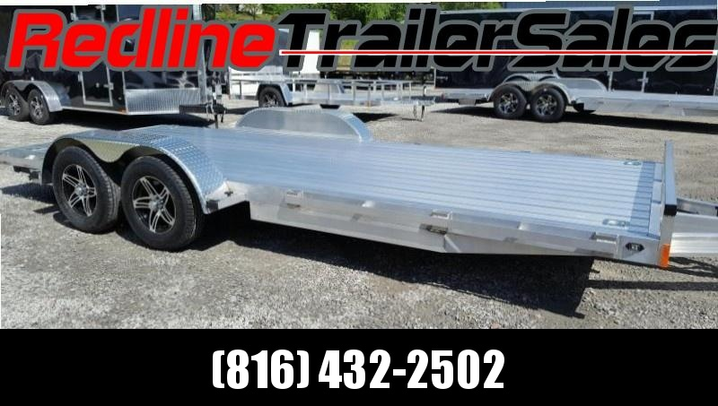 ** NEW YEAR SPECIAL ** 2018 Stealth Trailer 7 x 18 ALL ALUMINUM Flatbed Trailer