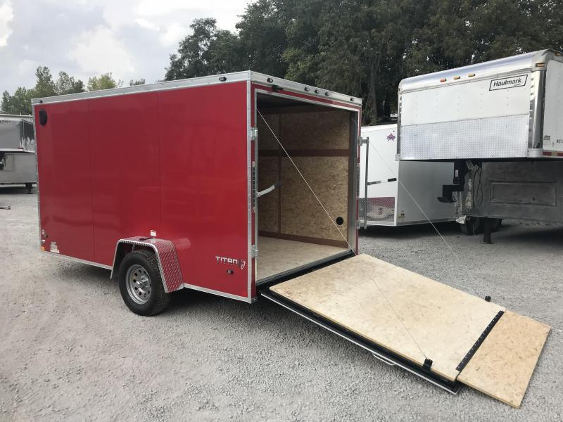 2018 Stealth Titan 7X12 Enclosed Cargo Trailer