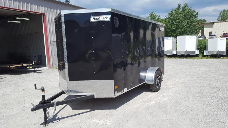 2017 Haulmark 6X12 Enclosed Cargo Trailer