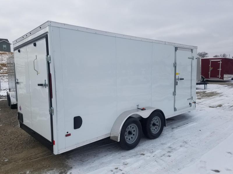 2018 US Cargo 7X16 Enclosed Cargo Trailer