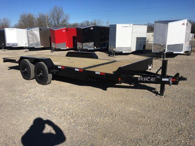 2018 Rice 16+4 Partial Tilt Equipment Trailer * 14000 GVWR *