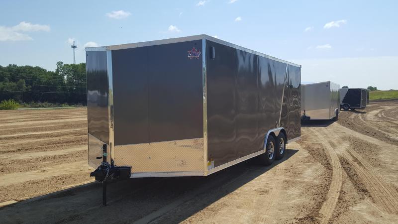 2018 US Cargo 8.5 X 20 Enclosed Cargo Trailer