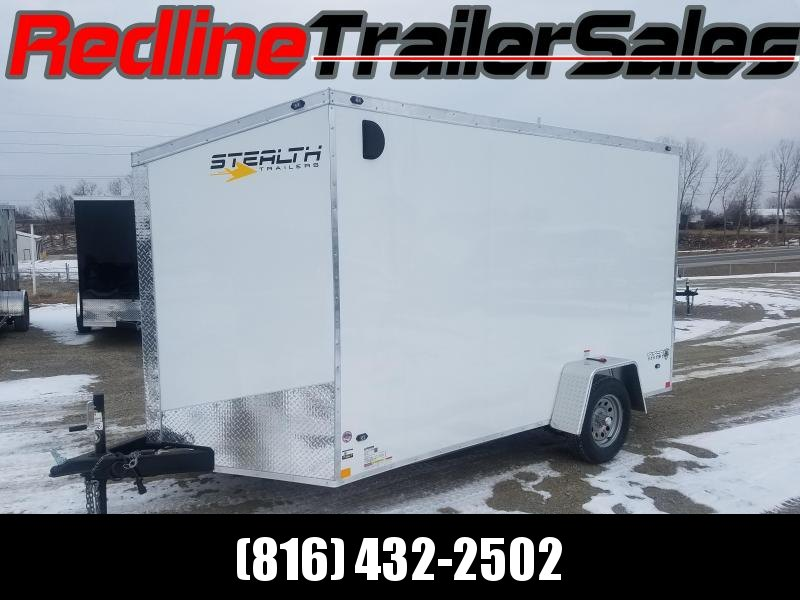 "2018 Stealth Titan 7x12 Enclosed Cargo Trailer **6"" Extra Height**"