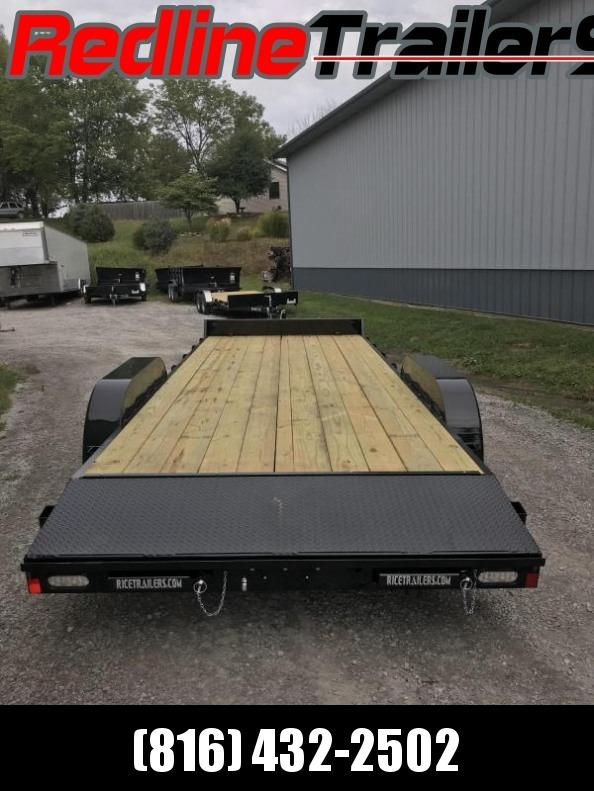 2018 Rice 18+2 Flatbed Trailer * 9900K GVWR *