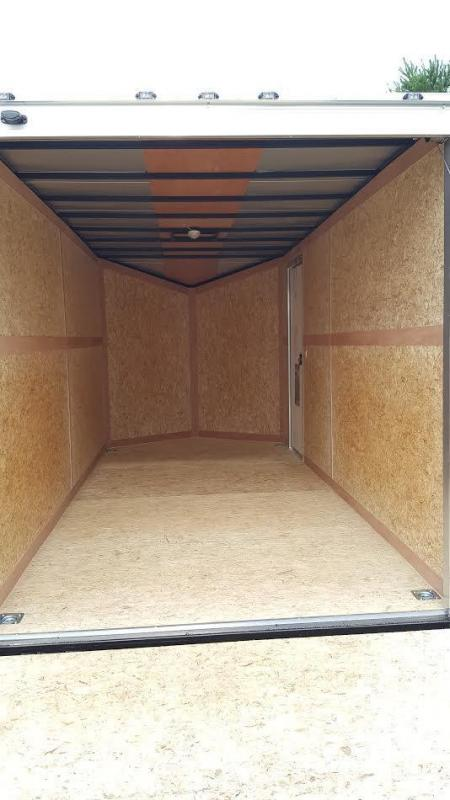 2018 Stealth Mustang 7X16 Enclosed Cargo Trailer **7'0 Height**