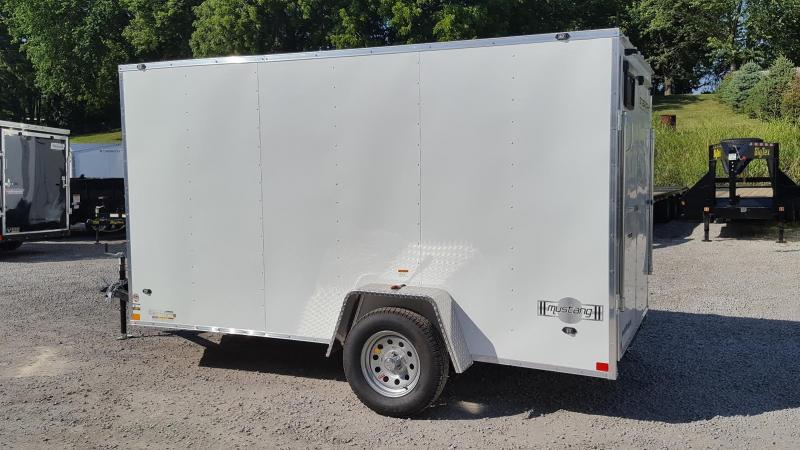 2018 Stealth Mustang 6X12 Enclosed Cargo Trailer