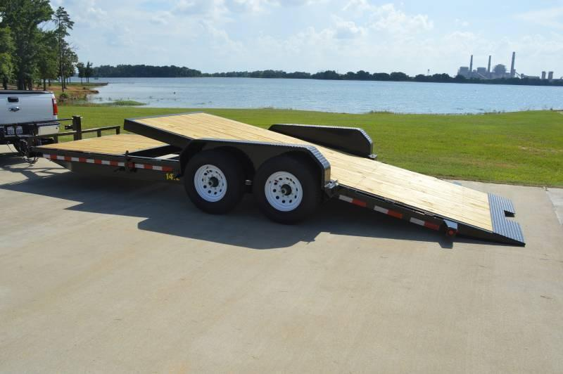 2017 Big Tex 16+6 Stationary tilt Equipment Trailer *14k GVWR*