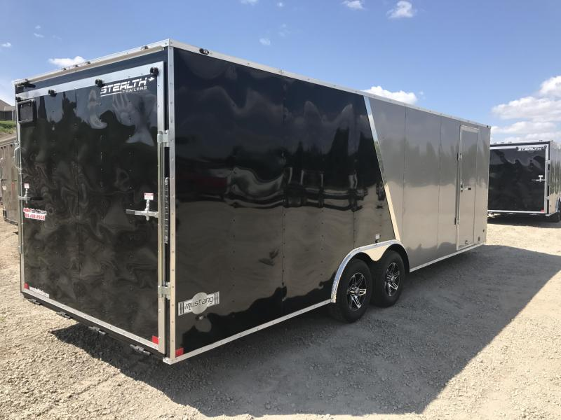 2018 Stealth Mustang 8.5 X 24 Enclosed Cargo Trailer